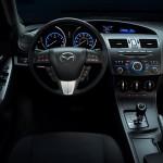 2012 Mazda3 SKYACTIV interior 6AT