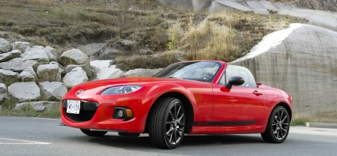 2013 Mazda Miata MX-5 Red Exterior
