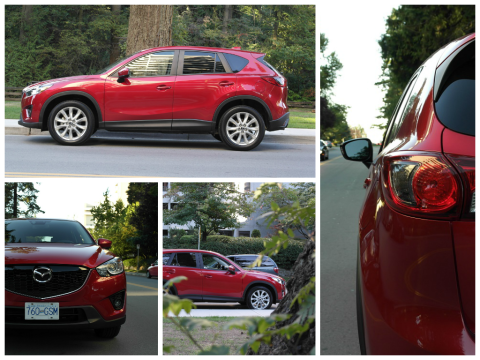 2014 Mazda CX-5 with SKYACTIV Technology