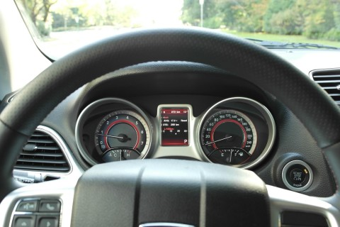 13 Dodge Journey Instrument Cluster