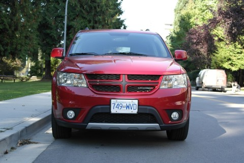 Front Red Exterior