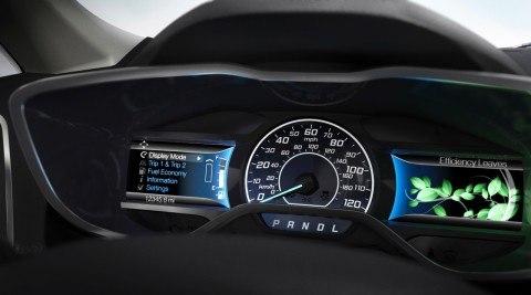 Ford C-Max Instrument Cluster