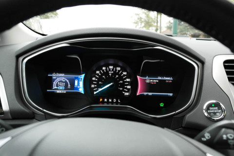 LCD Dashboard with Brake Advisor