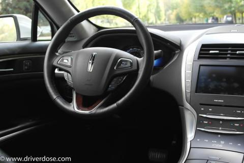 Leather Interior Steering Wheel