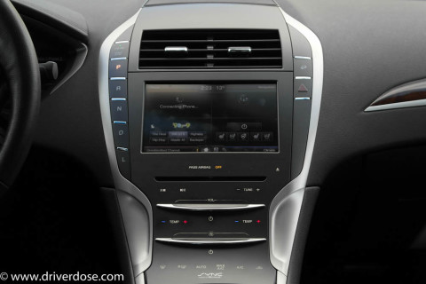 MyLincoln Touch Center Console