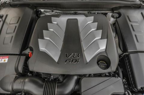 V8 Tau Engine